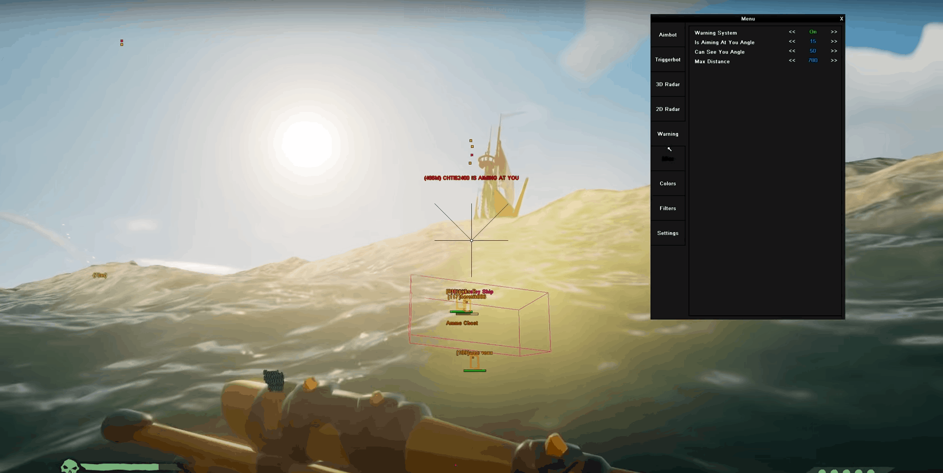 sea of thieves hack